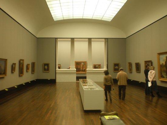 Museumsinsel: Interni della pinacoteca