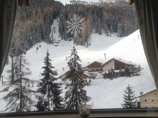 Hotel Aaritz: View from restaurant