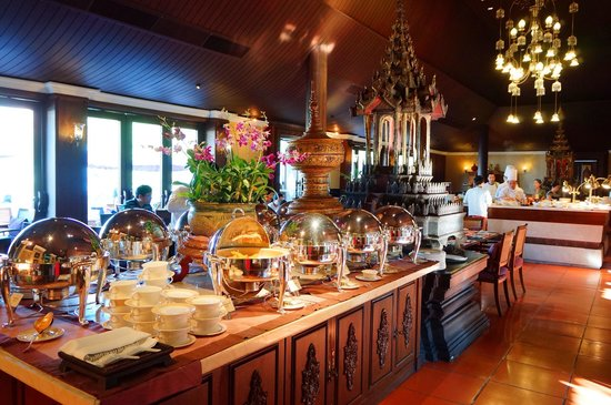 The Dhara Dhevi Chiang Mai: Breakfast