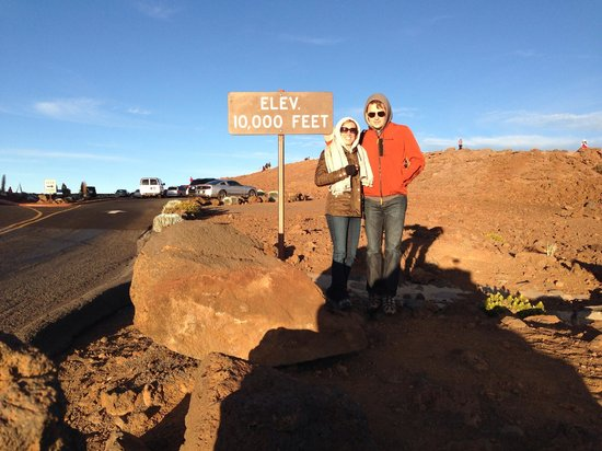 Haleakala Crater: The summit
