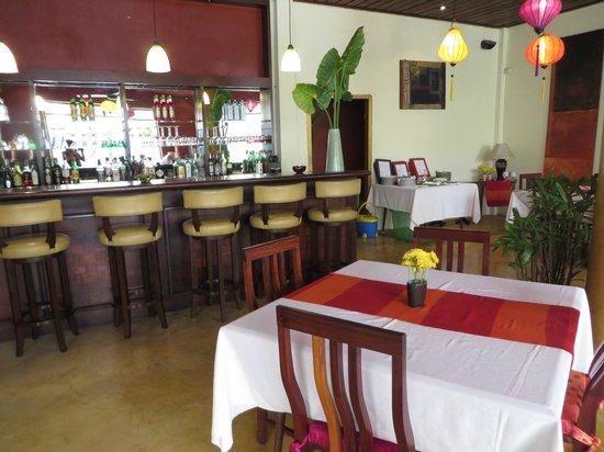 The Apsara: Dining area