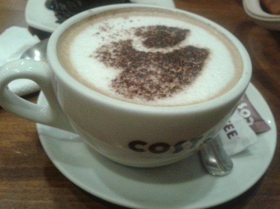 costa coffee differentiation strategy