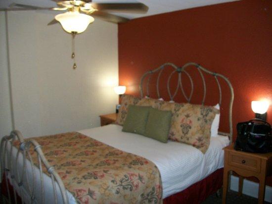 Wyndham Riverside Suites: Despite no windows - great room for sleeping!