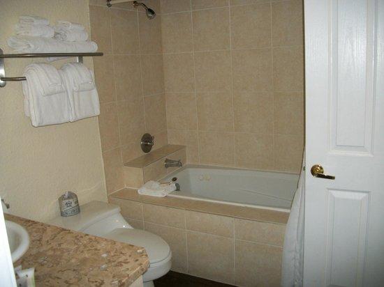 Wyndham Riverside Suites: Bathroom # 2