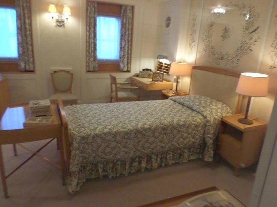 HMY Britannia: one of the beautiful rooms on board