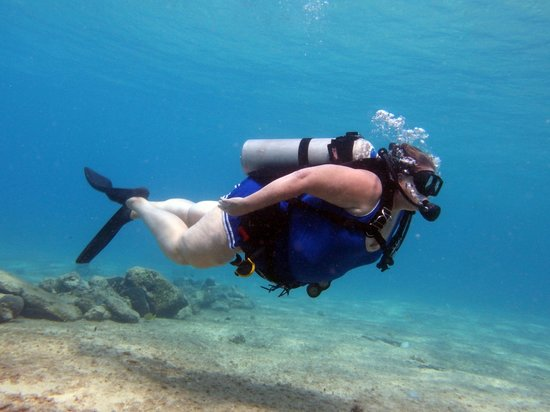 Ocean Tours Water Sports,  El Cozumeleno Beach Resort: perfic diving form