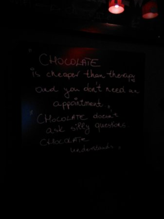 BARbar Cafe & Chocolate: nice touches