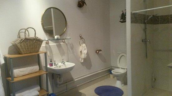 Blackbrook Lodge Caravan & Camp Site: En suite bathroom
