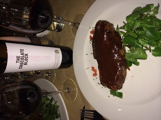 The French Connection: Steak and Chocolate Block
