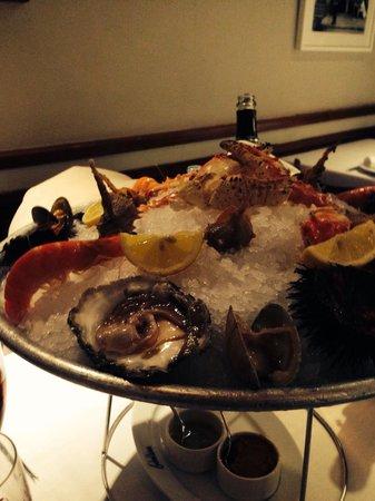 Carballeira : Erizo, ostras...