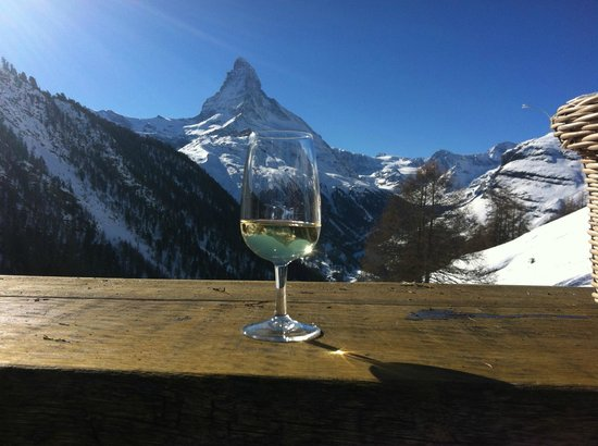 Restaurant Enzian: Try a glass of Heida