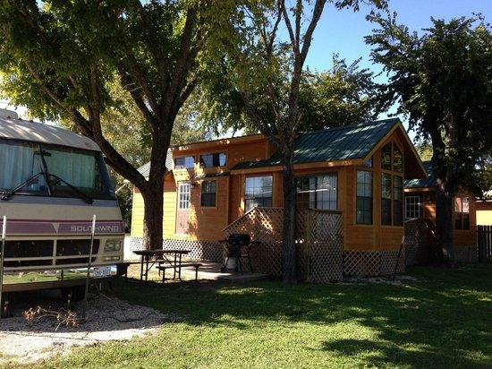 cabin picture of pecan park riverside rv san marcos tripadvisor