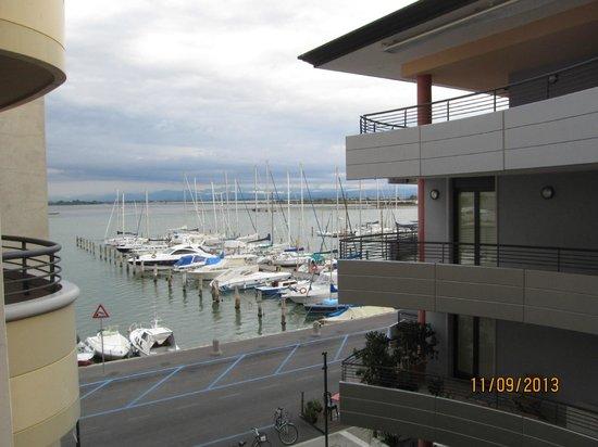 Laguna Palace Hotel: Вид из номера