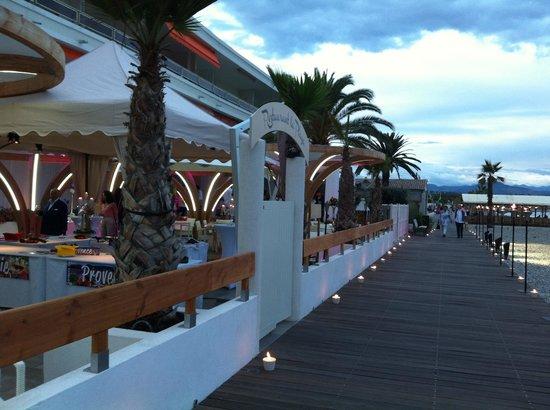 Restaurant La Playa : La playa