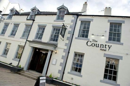 County Hotel Hexham Picture Of The County Restaurant Hexham