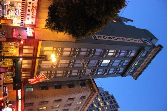 King George Hotel: Fachada