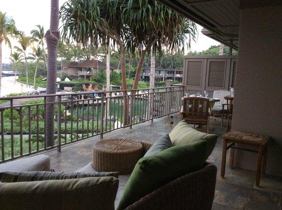 Four Seasons Resort Hualalai: Unbelievably Spacious Lanai