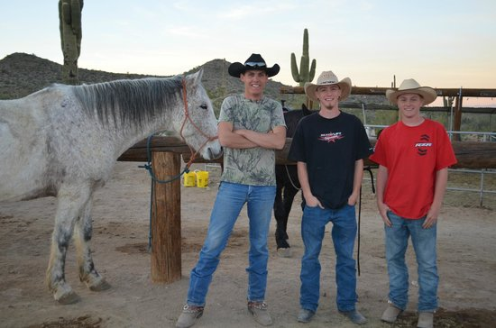 White Tanks Riding Stables: Wranglers