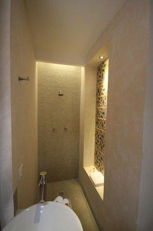 Koox Casa de las Palomas Boutique Hotel: shower