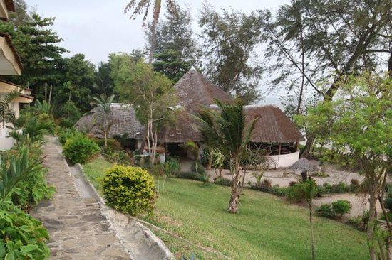 Bagamoyo Country Club: View from room toward restaurant