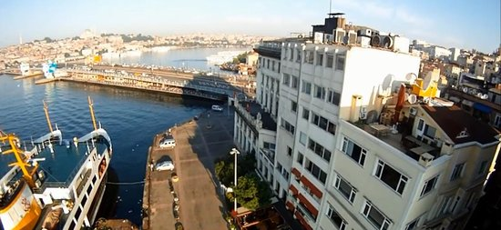 Galata Bridge: karaköy sahil kenarından galata köprüsü
