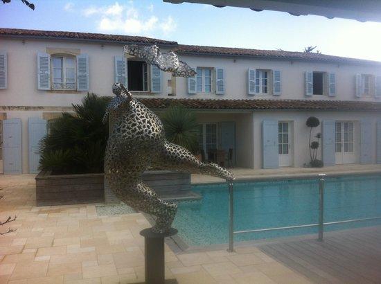 Le Clos Saint-Martin Hôtel & Spa : L'hôtel
