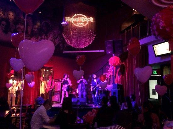 Hard Rock Cafe Live Band Penang