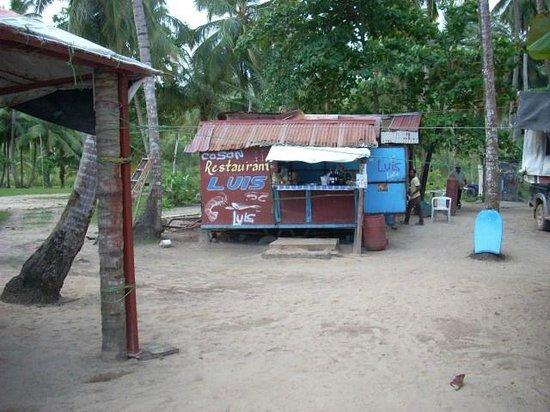Hotel Casa Robinson : ristorante in spiaggia