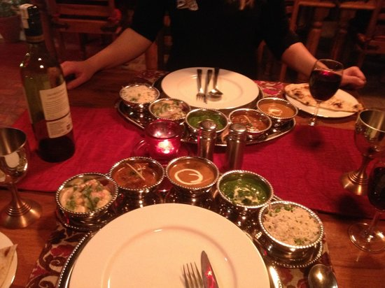 Shanti Home : most amazing supper ever! so so spoiled! loved it.