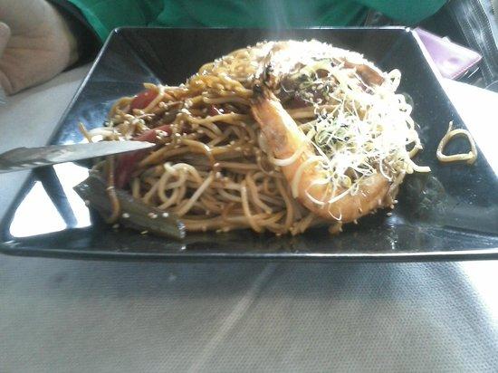 El Dropo: wok, fideos...