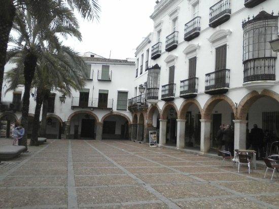 El Dropo : soportales Plaza Grande, Dropo...
