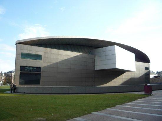 Van-Gogh-Museum: The back building