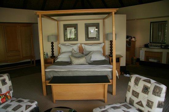 Shamwari Game Reserve Lodges : Bedroom
