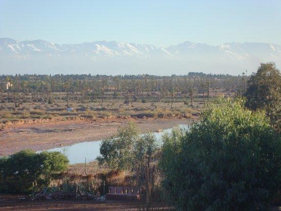 Kasbah Le Mirage : vue de la terrasse