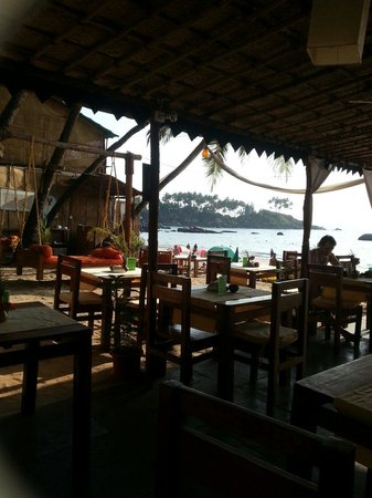 Art Resort Goa : Vista dal ristorante