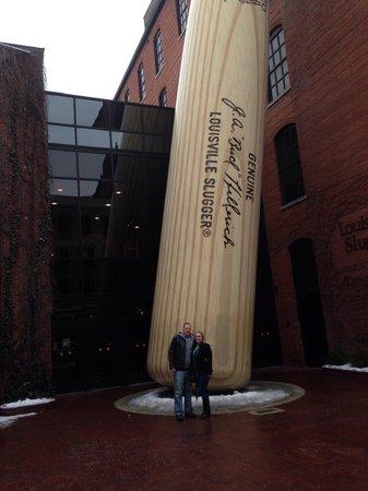 Louisville Slugger Museum & Factory : Bat Photo