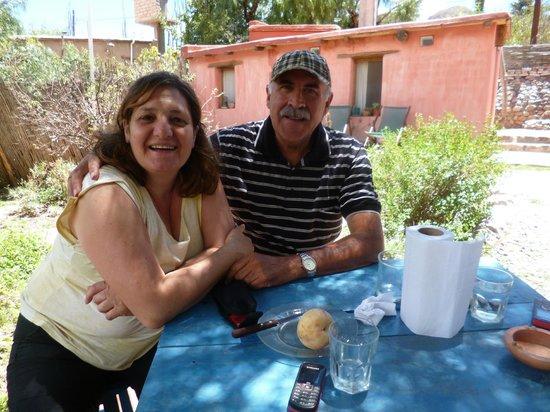 La Calabaza : Almorzando al aire libre