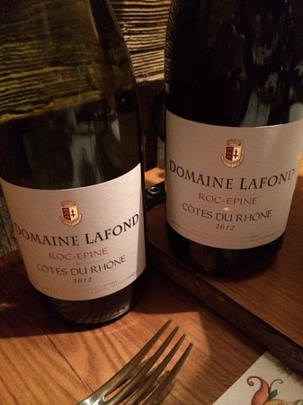 Les Fontaines Blanches : 18.50eu & delicious