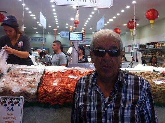 Sydney Fish Market: me in the market