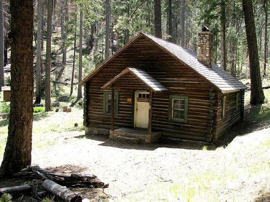 Portal, AZ: The Cima Park cabin on the Greenhouse trail