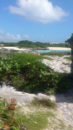Grand Sirenis Riviera Maya Resort & Spa: walking on beach