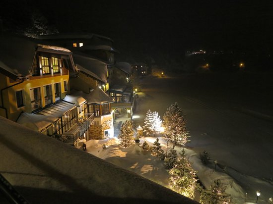 Seehotel Jägerwirt: romantische Stimmung am Abend