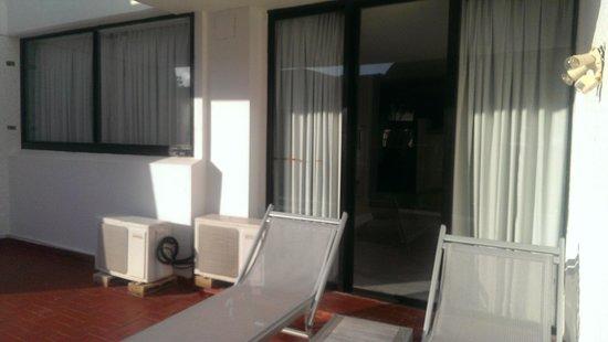 Cancun Bay Resort: Patio