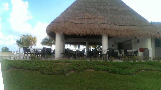 Cancun Bay Resort: view from our patio