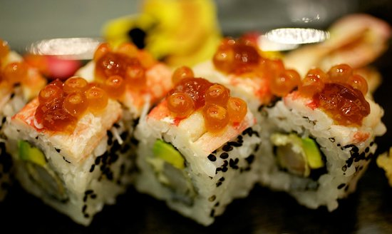sushi flower picture of nagi cucina giapponese
