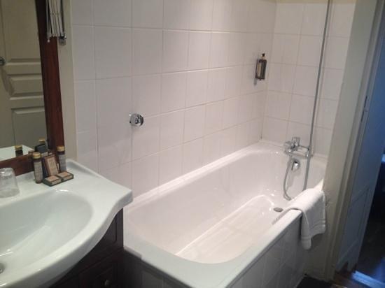 Hotel de l'Horloge : la salle de bain