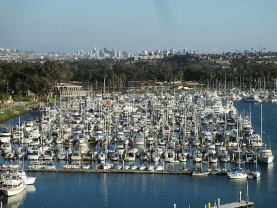 Hyatt Regency Mission Bay : Harbor and City View from Room
