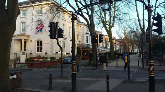 The Belmont Hotel: Outside view