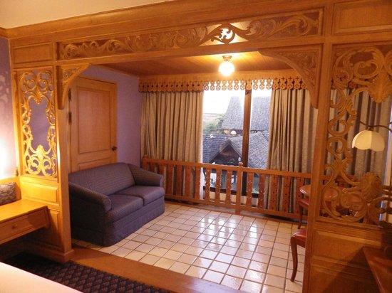 Lotus Hotel Pang Suan Kaew : petit salon