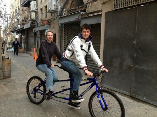 Wheel Bee Bike Rental : Tandem cycling